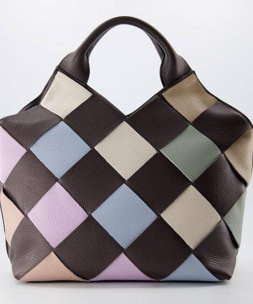 Mandy - Classic Grain - Crossbody bags - Brown - D23 - Gold