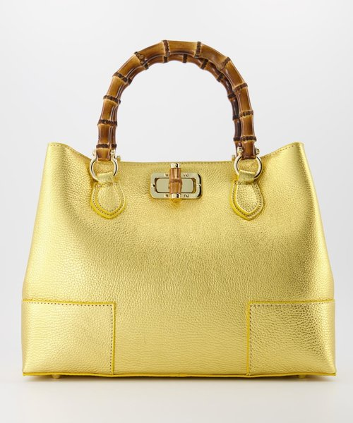 Camilla - Classic Grain - Hand bags -  -  - Gold