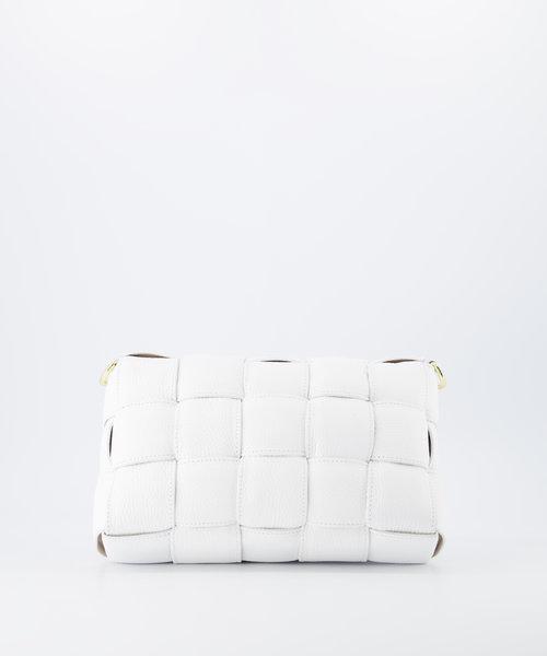 Bodina - Classic Grain - Crossbody bags - White - D01 - Gold
