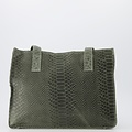 Patty - Suede - Hand bags -  - 6008 - Bronze