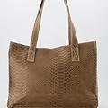 Patty - Suede - Hand bags - Beige - 4 - Bronze