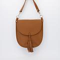 Meghan - Classic Grain - Crossbody bags - Brown - T01 - Gold
