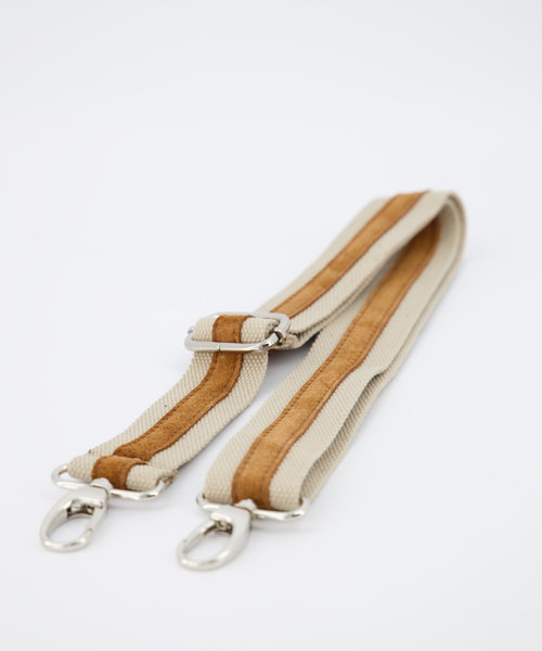 Meghan - Suede - Crossbody bags - Brown - 6 - Gold