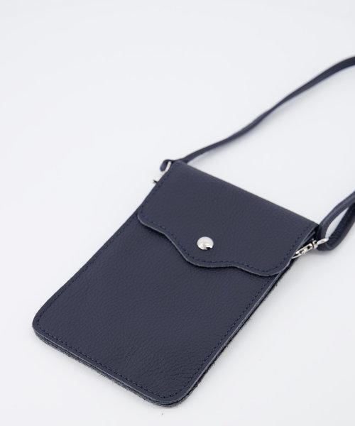 Pona - Classic Grain - Crossbody bags - Blue - D26 - Gold