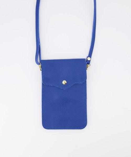 Nieuw Pona - Classic Grain - Crossbody bags - Blue - D22 - Gold