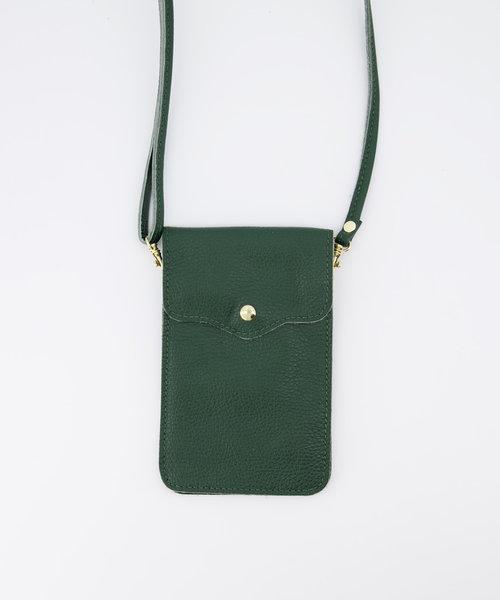 Pona - Classic Grain - Crossbody bags - Green - D14 - Gold