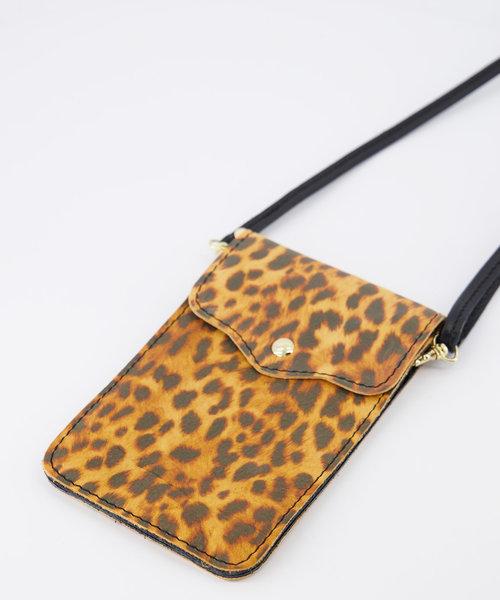 Pona - Classic Grain - Crossbody bags -  - Luipaard - Gold