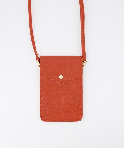 Pona - Classic Grain - Crossbody bags - Orange - D35 - Gold