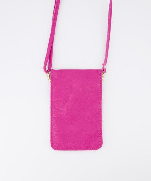 Nieuw Pona - Classic Grain - Crossbody bags - Pink - D02 - Gold