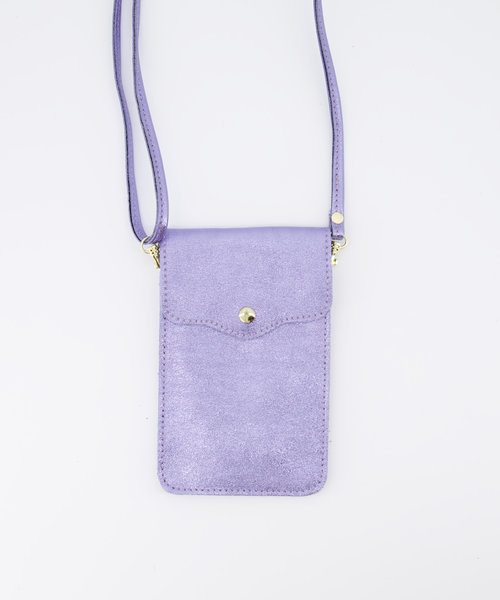 Nieuw Pona - Metallic - Crossbody bags - Purple - 32L - Gold