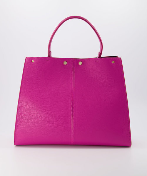 Noelle - Classic Grain - Hand bags - Pink - D02 - Gold