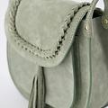 Celia - Suede - Crossbody bags - Green - 6008 - Gold