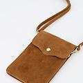 Nieuw Pona - Suede - Crossbody bags - Brown - 6 - Gold