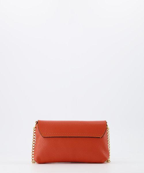Finley - Classic Grain - Crossbody bags - Orange - D35 - Gold
