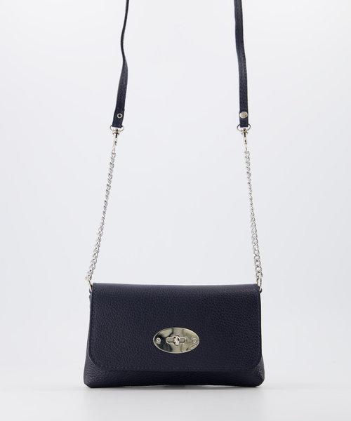 Finley - Classic Grain - Crossbody bags - Blue - D26 - Silver