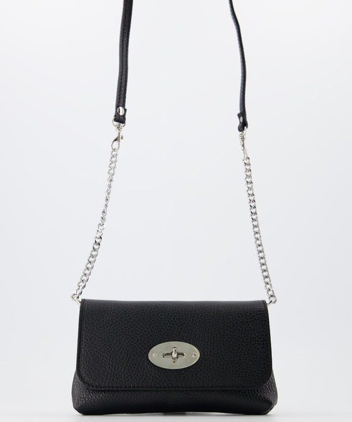 Finley - Classic Grain - Crossbody bags - Black - D28 - Silver
