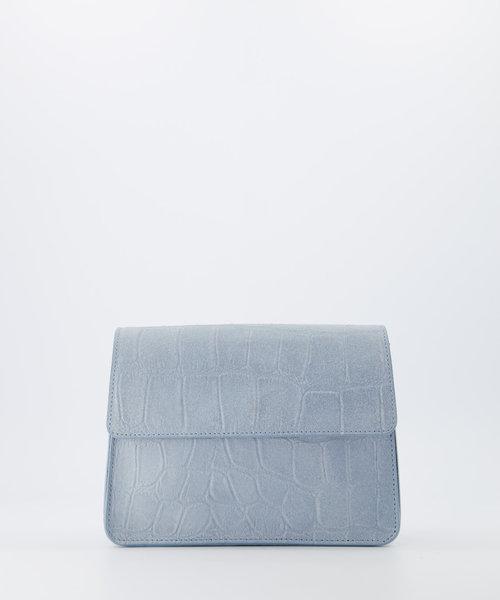 Hannah - Croco - Crossbody bags - Blue - 47 - Bronze