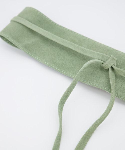 Nikkie - Suede - Waist belts - Green - 53 -