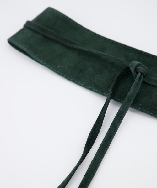 Nikkie - Suede - Waist belts - Green - 39