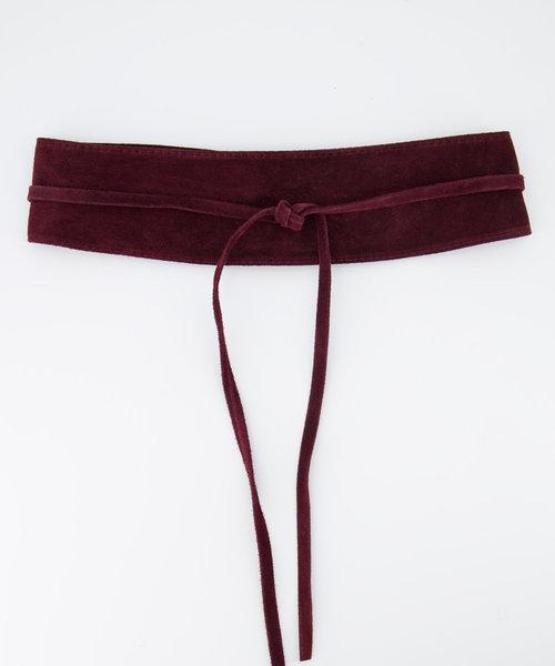 Nikkie - Suede - Waist belts - Purple - 60