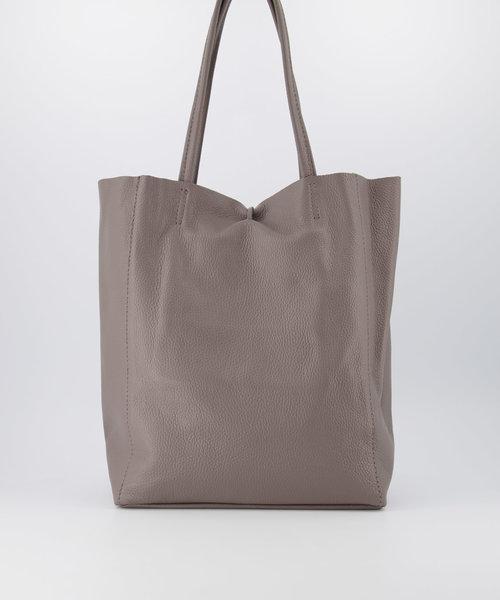 Mia - Classic Grain - Shoulder bags - Grey - D77 -