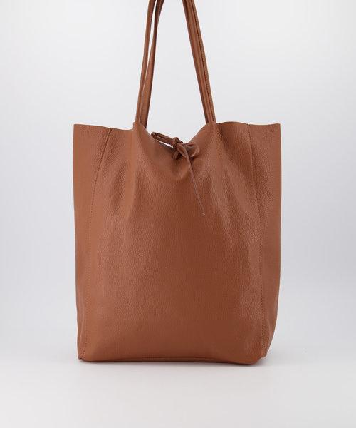Mia - Classic Grain - Shoulder bags - Brown - D44 -
