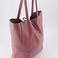 Mia - Classic Grain - Shoulder bags - Pink - D73 -
