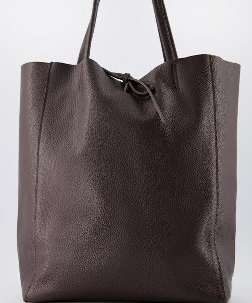 Mia - Classic Grain - Shoulder bags - Brown - D23 -