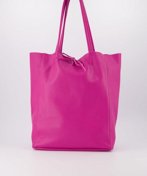 Mia - Classic Grain - Shoulder bags - Pink - D02 -