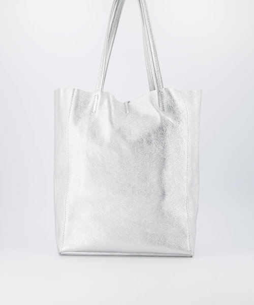 Mia - Metallic - Shoulder bags -  - Zilver -