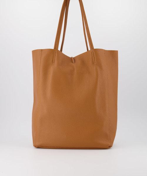Mia - Classic Grain - Shoulder bags - Brown - T01 -