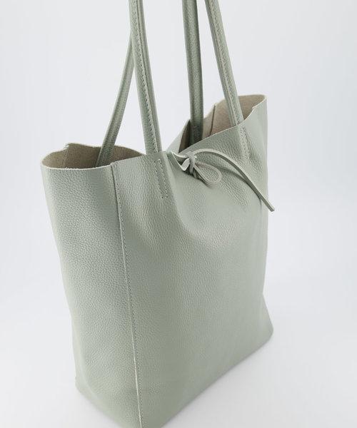 Mia - Classic Grain - Shoulder bags - Green - T02 -