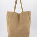 Mia - Suede - Shoulder bags - Beige - 4 -