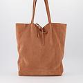 Mia - Suede - Shoulder bags - - Clay -