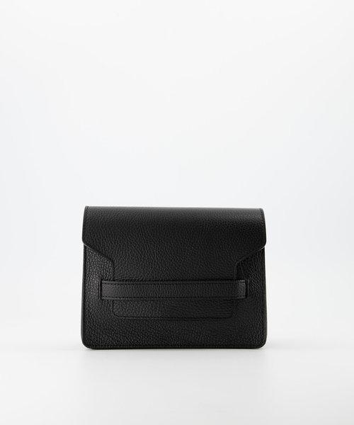 Janice - Classic Grain - Crossbody bags - Black - D28 - Silver