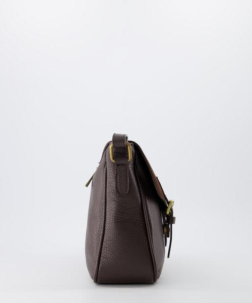 Soof - Classic Grain - Crossbody bags - Brown - D23 - Bronze