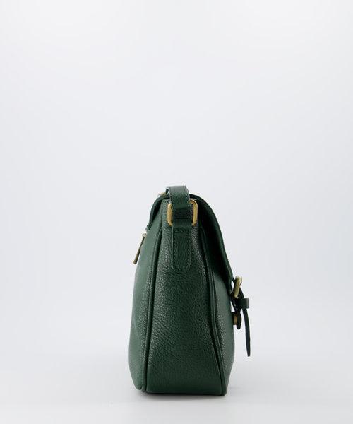 Soof - Classic Grain - Crossbody bags - Green - D14 - Bronze