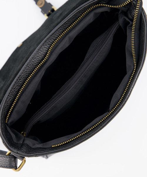 Soof - Classic Grain - Crossbody bags - Black - D28 - Bronze