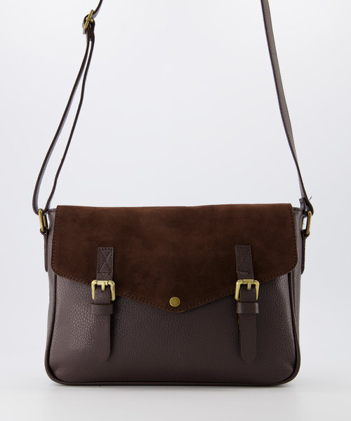 Soof - Classic Grain - Crossbody bags - Brown - T01 - Bronze
