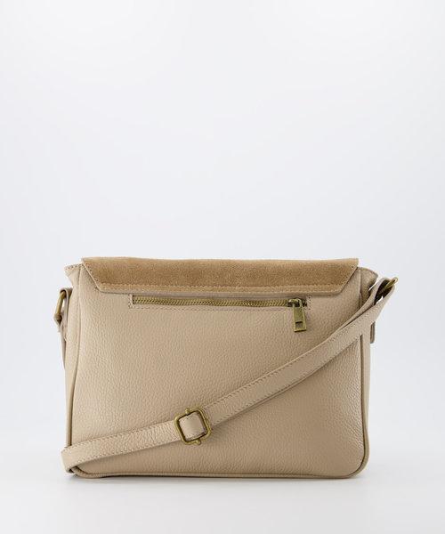 Soof - Classic Grain - Crossbody bags - Taupe - D05 - Bronze