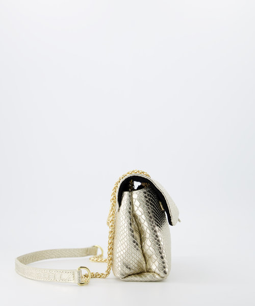 Evi Small - Metallic - Crossbody bags -  -  - Gold