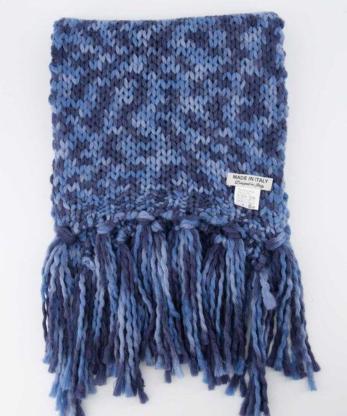 Milo Sjaal -  - Scarves - Blue - 6049 -