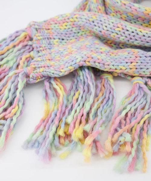 Milo Sjaal -  - Sjaals - Pastel Rainbow - 7102 -
