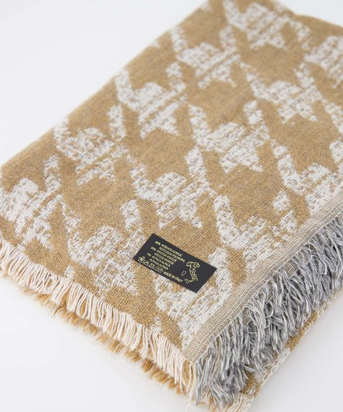 Jessica -  - Scarves - Brown - Houndstooth Camello -