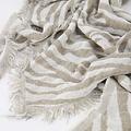 Cheryl - Zebra - Scarves - Beige - Taupe/Wit -