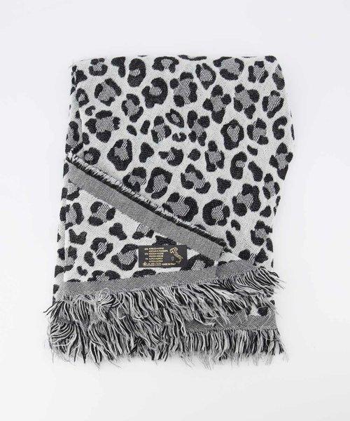 Cheryl - Luipaard - Sjaals - Zwart - Zwart/Wit -