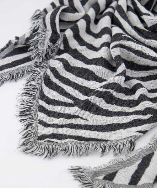 Cheryl - Zebra - Sjaals - Zwart - Zwart/Wit -