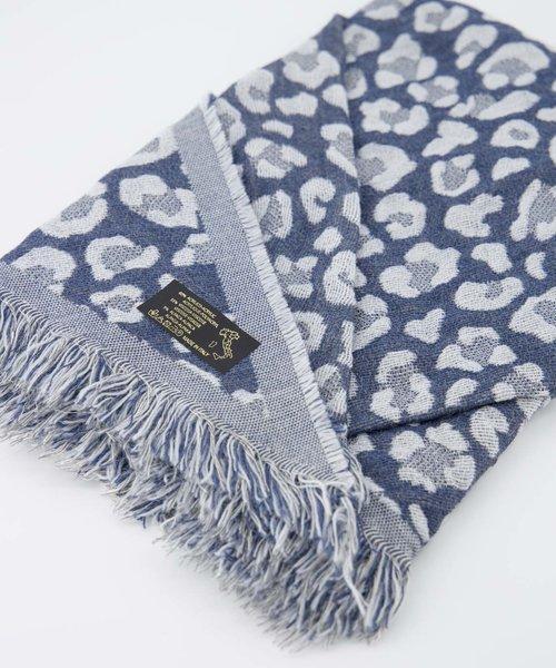Cheryl - Leopard - Scarves - Blue - Jeans/Blue -