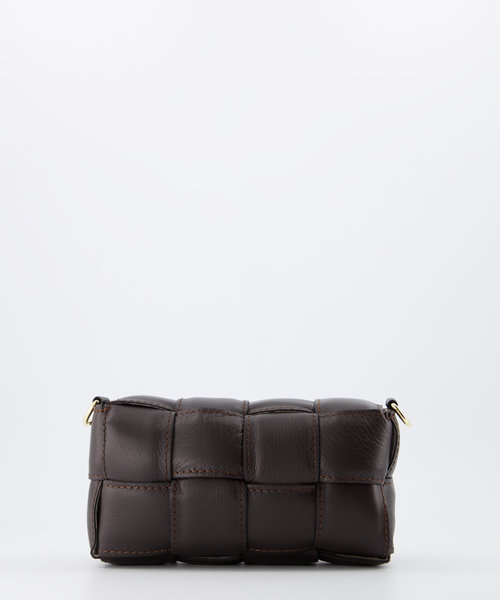 Bodina Small - Sauvage - Crossbody bags - Brown - S23 - Gold