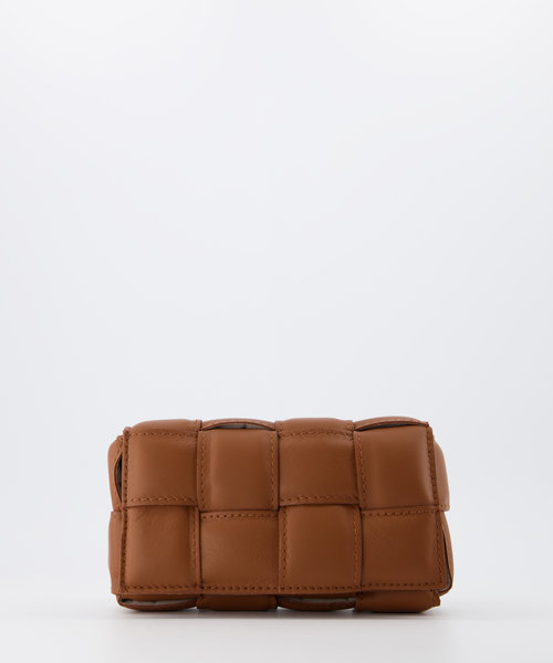 Bodina Small - Sauvage - Crossbody bags - Brown - Cognac S17 - Gold